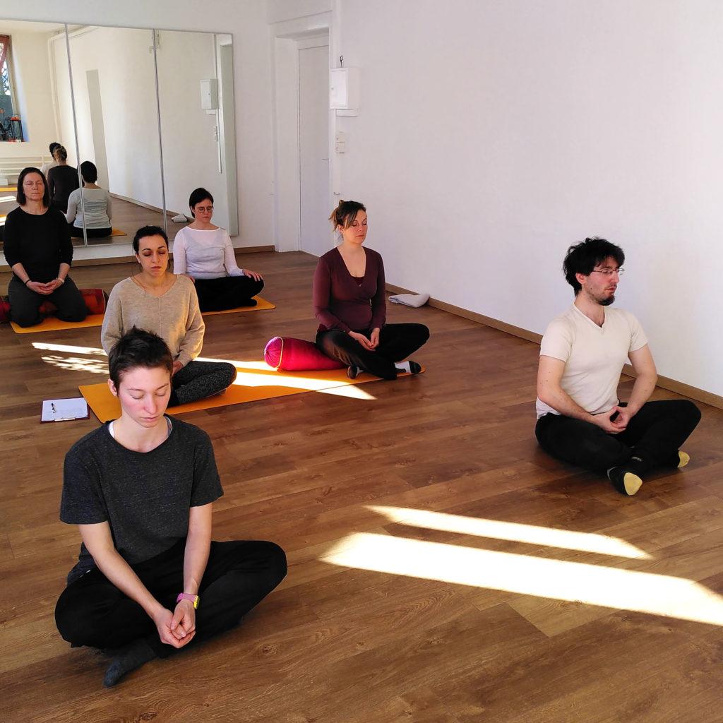 Stage de méditation en février 2020